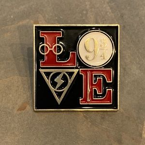 4 for $25 Harry Potter love enamel pin